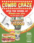Blimpie launches Combo Craze promo giving fans a chance to win $10,000!
