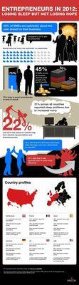 Entrepreneurs in 2012 - Losing Sleep but not Losing Hope