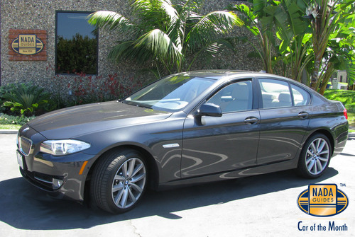 NADAguides Awards the 2011 BMW 535i the Car of the Month for August