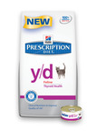 New Hill's Prescription Diet y/d Feline Pet Food Gives Life to Hyperthyroid Cats.  (PRNewsFoto/Hill's Pet Nutrition)