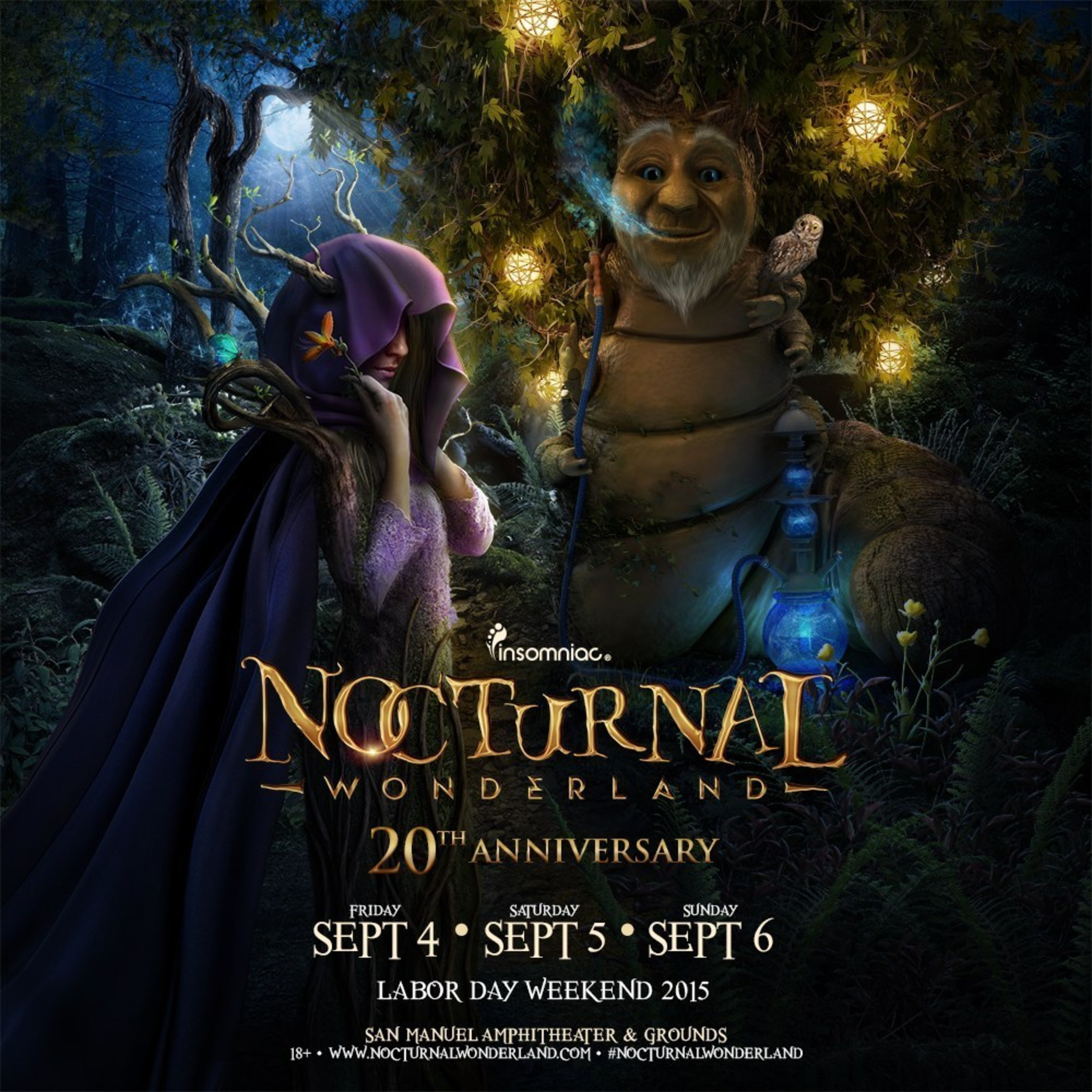 Insomniac's Nocturnal Wonderland Festival Expands To Three Days For 20th Anniversary