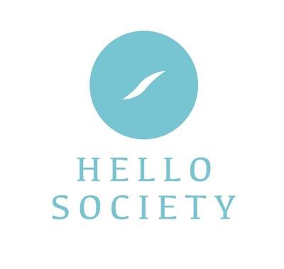 HelloSociety Logo (PRNewsFoto/HelloSociety)