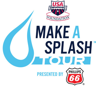 USA Swimming Foundation's Make A Splash Tour presented by Phillips 66, kicks off May 16-18 in New York City. Visit www.makeasplash.org.  (PRNewsFoto/USA Swimming Foundation)