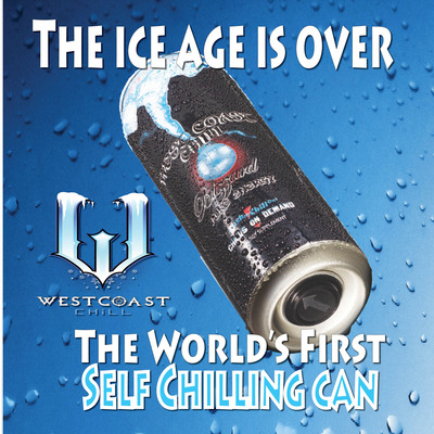 A myth no longer, West Coast Chill, featuring the world's first Self Chilling Beverage Can, is on sale now!  (PRNewsFoto/West Coast Chill)