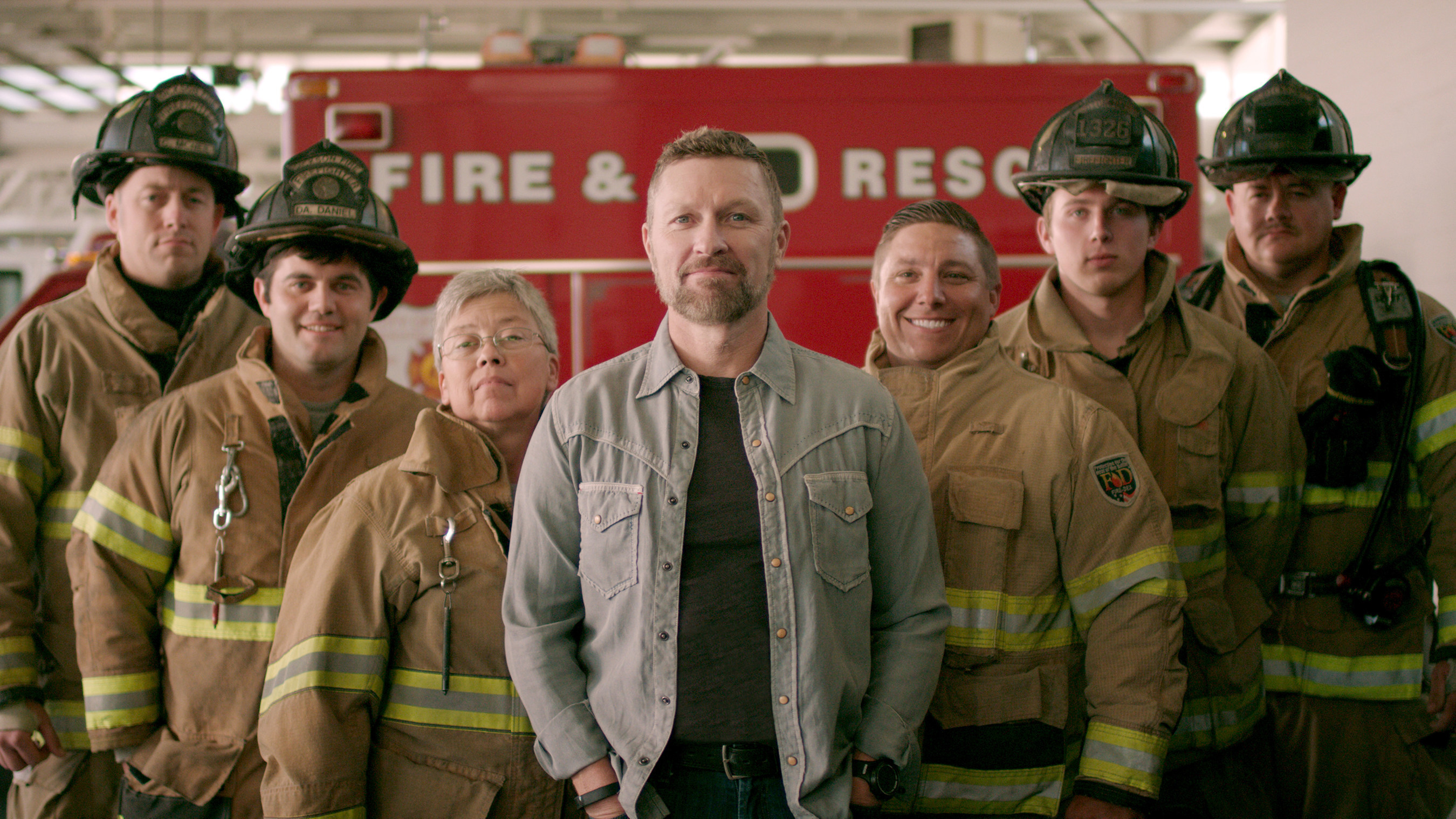 """Kidde Fire Safety has teamed up with Craig Morgan, Country Music star and former first responder, Firehouse, the International Association of Fire Chiefs (IAFC), the National Fire Protection Association (NFPA) and National Fallen Firefighters Foundation to launch """"Step Up and Stand Out,"""" a national campaign to increase awareness of the need for volunteer firefighters. To learn more, go to www.firehouse.com/vf."""