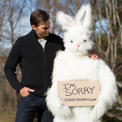 Tom Brady, an UNREAL® Candy Supporter, Cheers Up the Sorry Bunny