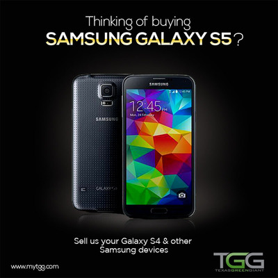 Get paid for Galaxy S4 and S3. (PRNewsFoto/Texas Green Giant) (PRNewsFoto/TEXAS GREEN GIANT)