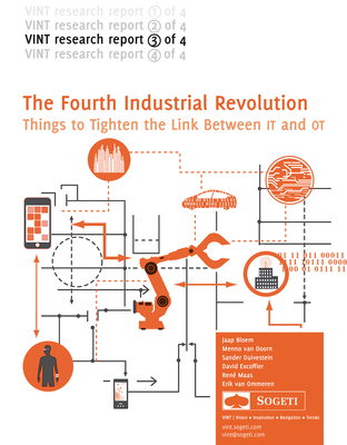 """Sogeti's research institute, VINT (Vision, Innovation, Navigation and Trends) released their latest report: """"The Fourth Industrial Revolution, Things build a bridge between OT and IT."""" Download your free copy today: https://bit.ly/TSLfAk. (PRNewsFoto/Sogeti USA)"""