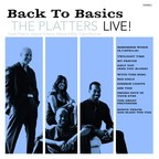 Album cover: Back to Basics with The Platters LIVE!