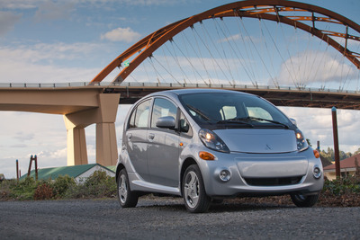 The 2012 Mitsubishi i has been named the most fuel-efficient vehicle in America by the Environmental Protection Agency (EPA) and the Department of Energy (DOE).(PRNewsFoto/Mitsubishi Motor Sales of America, Inc., Jason Chatterley Design)