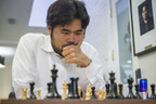"Chess Grandmaster Hikaru Nakamura, the No. 1 ranked American, won the 2015 U.S. Chess Championship Sunday at the Chess Club & Scholastic Center of Saint Louis. The competition is part of the ""Triple Crown"" of American chess championships held in Saint Louis each year. Nakamura, 27, lives in St. Louis. Photo credited to Lennart Ootes, Chess Club and Scholastic Center of Saint Louis."