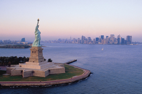 New York's Statue of Liberty (PRNewsFoto/Crystal Cruises)