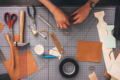 Shinola's Leather Design Studio in Detroit
