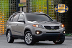 2012 Kia Sorrento Holds Top Spot in Consumer Interest on NADAguides.com.  (PRNewsFoto/NADAguides)