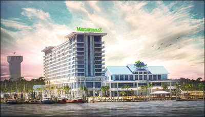 Margaritaville Casino & Restaurant in Biloxi, Miss. announced plans for a new hotel resort that includes timeshare properties, a spa, new buffet and 250 deluxe guest rooms.  (PRNewsFoto/Margaritaville Casino & Restaurant Biloxi)