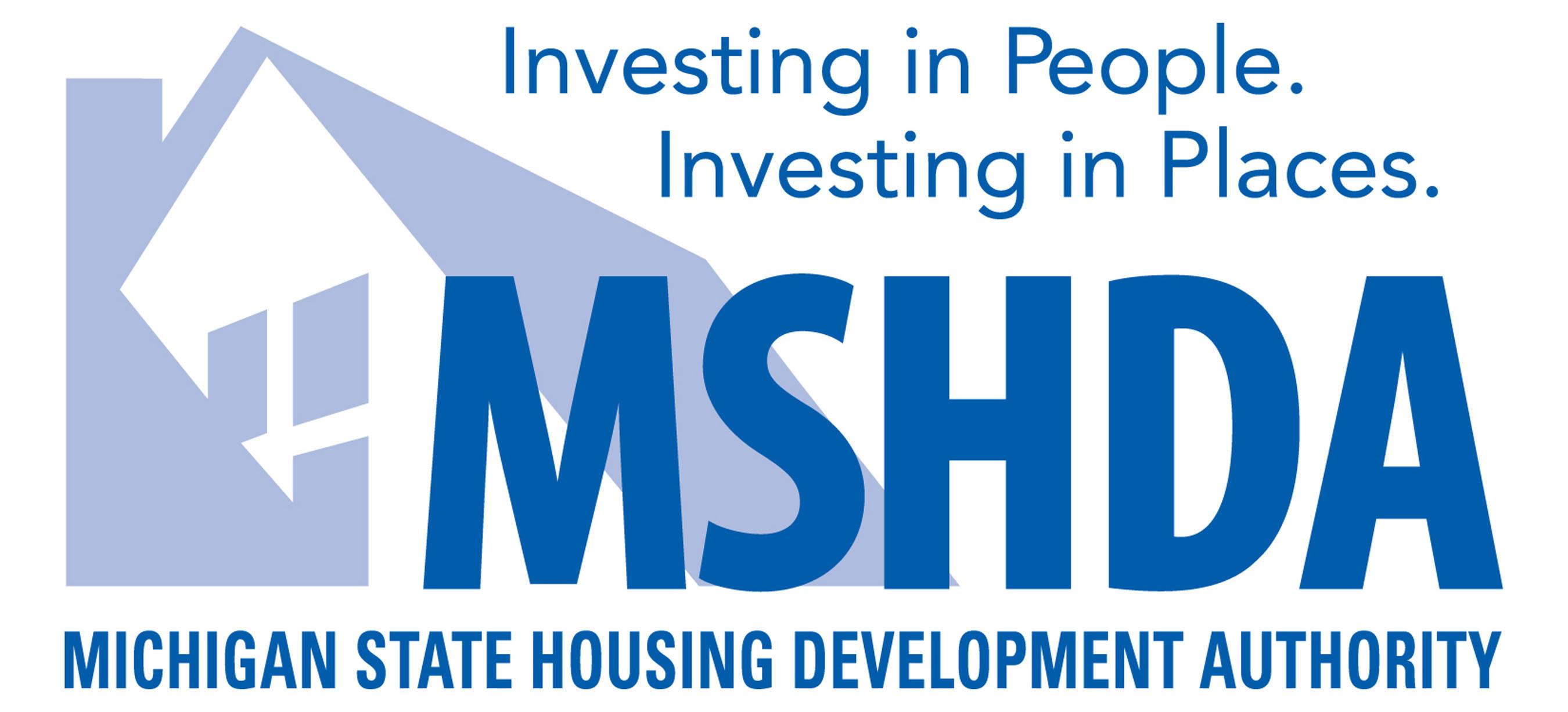 Michigan State Housing Development Authority Logo. (PRNewsFoto/Michigan State Housing Development Authority) (PRNewsFoto/)