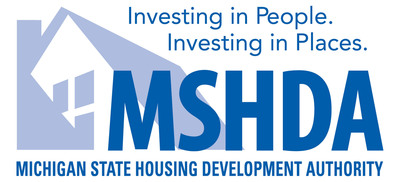 Michigan State Housing Development Authority Logo.