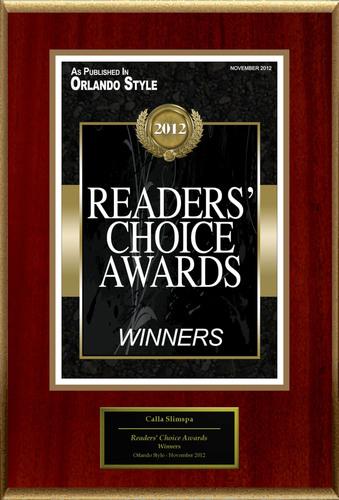 Calla Slimspa Medical Weight Loss Center Selected For 'Readers' Choice Awards'