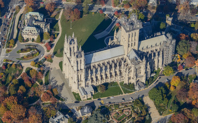 The Washington National Cathedral is considered a national treasure and an architectural feat. Sanborn acquired this striking oblique image of the cathedral in 2014 and currently is providing a wide range of comprehensive aerial mapping services over Washington, D.C., for the second consecutive year.