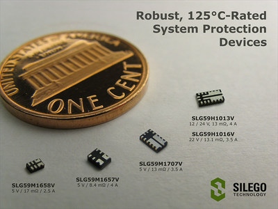 Silego's New 125 degrees Celsius-rated GFET3 and HFET1 Integrated Power Switches