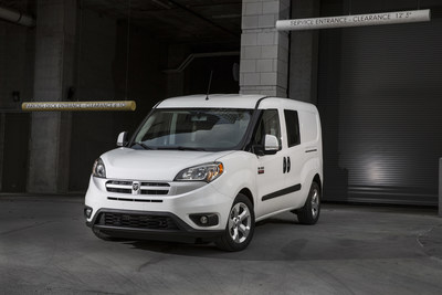 Ram ProMaster City Wins 2017 Commercial Green Car of the Year(TM) by Green Car Journal