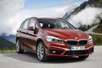Available since September 2014: the new BMW 2 Series Active Tourer.