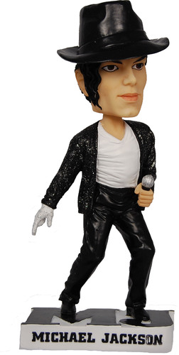 The King of Pop is Back! Officially Licensed Michael Jackson Bobblehead Now Available