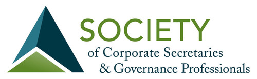 Society of Corporate Secretaries and Governance Professionals.  (PRNewsFoto/Society of Corporate Secretaries and Governance Professionals)