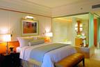 The Ritz-Carlton, Dubai International Financial Centre Guest Room.  (PRNewsFoto/The Ritz-Carlton Hotel Company, L.L.C.)