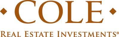 Cole Real Estate Investments, Inc. (NYSE: COLE) is an industry-leading net-lease REIT that acquires and manages real estate assets leased long-term to a high-quality, diversified tenant base. Since 1979, Cole has leveraged its deep relationships, efficiencies of scale and rigorous operational processes to acquire and actively manage retail, office and industrial properties. As of June 30, 2013, Cole Real Estate Investments had total assets of $7.8 billion, which included 1,013 properties representing approximately 43 million square feet of commercial real estate in 48 states. Cole's private capital management business, Cole Capital, is a leading sponsor of non-listed REITs. According to industry analyst Robert A. Stanger & Co., Cole is the only non-listed REIT sponsor to rank in the top three for annual capital raised each of the past five years.  (PRNewsFoto/Cole Real Estate Investments, Inc.)
