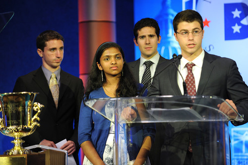 SigEp Foundation Awards Scholarship to National Spelling Bee Winner