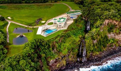 Rainbow Falls Estate, Hawaii's most prestigious new luxury vacation rental on the Big Island of Hawaii.