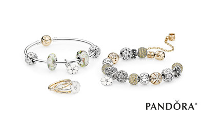 PANDORA Jewelry's spring collection flourishes this season with on-trend floral designs.