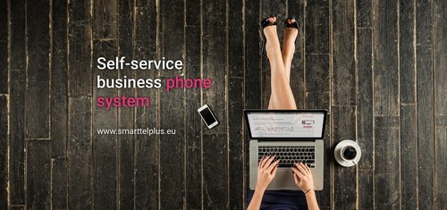 SmartTelPlus cloud PBX is self-service, designed in such a way that users can do without a specialist; they set up and control the whole thing themselves from a web browser on any internet-enabled device. And that connection process takes a whopping 15 minutes. (PRNewsFoto/SmartTelPlus)