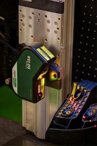 ShapeGrabber scanhead in action - image.  (PRNewsFoto/ShapeGrabber)
