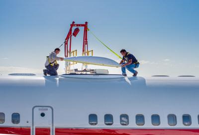 Honeywell's JetWave hardware installation for GX Aviation