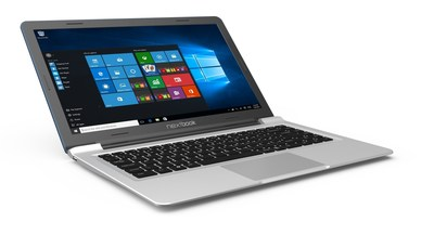 """The 14"""" Nextbook laptop powered by Windows 10 makes its debut at CES 2016."""