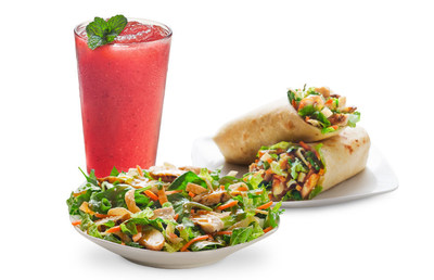 Stop by any Tropical Smoothie Cafe to try the new tantalizing flavors of our Watermelon Mojito and our Thai Chicken offerings, available for a limited time.