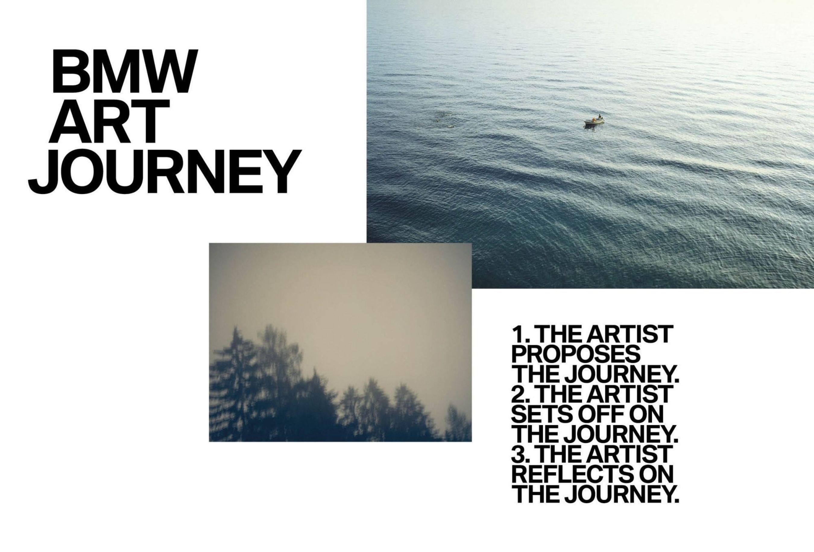 A BMW e a Art Basel formam parceria em uma nova colaboração global: O prêmio BMW Art Journey que