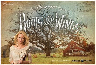 "Ram Trucks has launched a new marketing campaign featuring Grammy Award-winner Miranda Lambert singing ""Roots and Wings,"" a song she wrote exclusively for the campaign. Lambert says the song was inspired by what the Ram brand stands for and is a personal story about where she came from and where she is going."