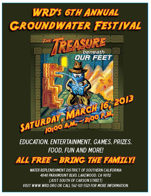 National Groundwater Awareness Week.  (PRNewsFoto/Water Replenishment District of Southern California)