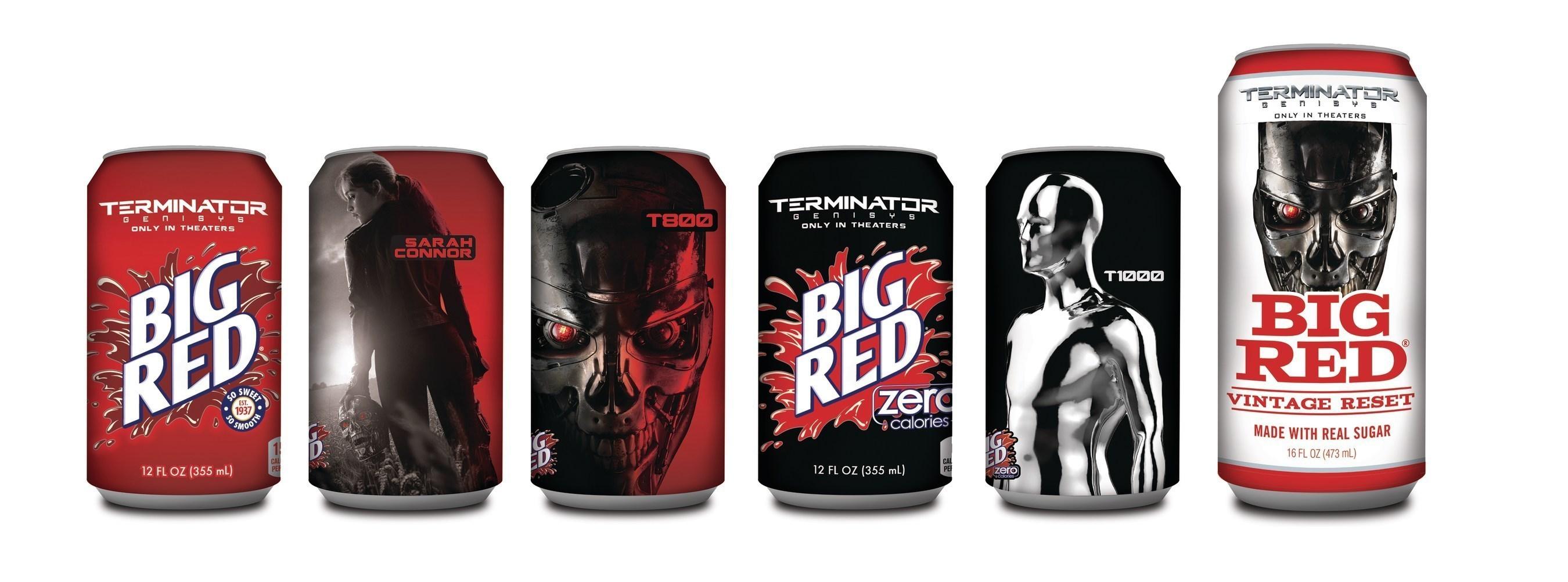 Big Red aims to terminate moviegoers' thirst with 'Terminator Genisys' movie partnership
