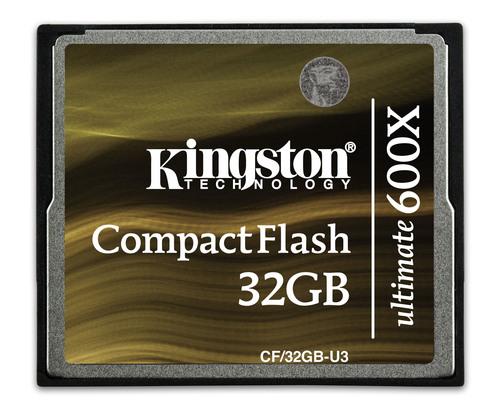 Kingston CompactFlash Ultimate 600x Card.  (PRNewsFoto/Kingston Digital, Inc.)