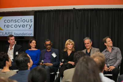 Today Conscious Recovery by CLARE hosted their annual State of Addiction panel discussion in Santa Monica, CA. This years topic was addiction in Hollywood and panelists included actor Stephen Moyer, film producer and former agent Brian Gersh, Actor's Fund's Dae Medeman, MusiCares Harold Owens, former Nickelodeon executive and Conscious Recovery's Jennifer Musselman and Sober Consultant Kevin McLaughlin