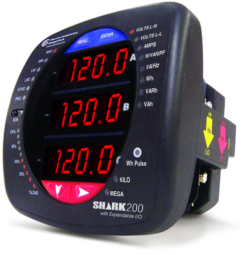Electro Industries/GaugeTech Releases Advanced Features for the Shark 200 Data-logging Power and Energy Meter ...