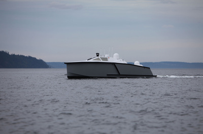 Zyvex Technologies launches new maritime division, Zyvex Marine, and ships its first production nano-composite vessel.  (PRNewsFoto/Zyvex Technologies)
