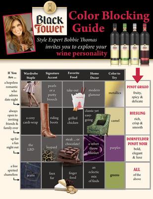Bobbie Thomas and Black Tower Winter Style Guide.  (PRNewsFoto/Black Tower)