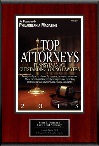 Attorney Scott Diamond Selected for List of Top Rated Lawyers in PA.  (PRNewsFoto/American Registry)