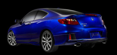The 2013 Honda Accord Coupe Honda Factory Performance (HFP) Package.  (PRNewsFoto/American Honda Motor Co., ...