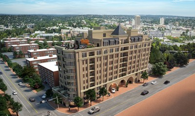 Stonehall Bethesda, an upcoming collection of 46 luxury condominium residences on the corner of Battery Lane and Woodmont Avenue, celebrates the grand opening of its sales gallery on April 13 at the Barrel and Crow restaurant in downtown Bethesda.